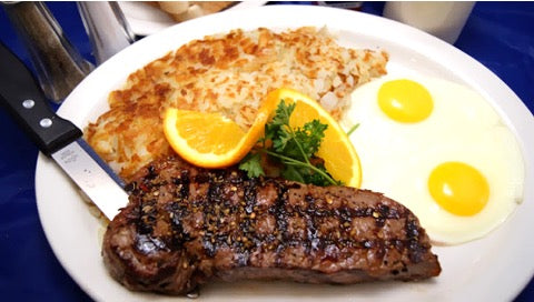 Petite NY Steak and Eggs