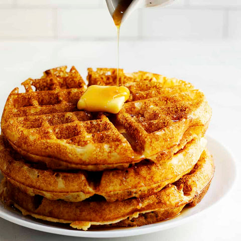 Belgian Waffle (weekends only)