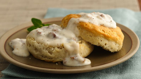 Biscuits and Country Gravy