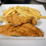 Chicken Strips (2) and Fries