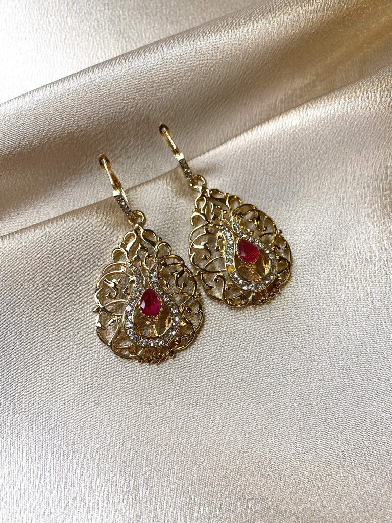 Dahaba earrings - Kabayare Fashion