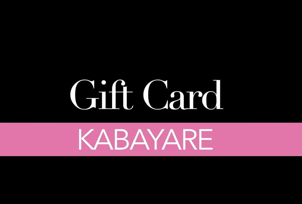 Gift Card - Kabayare Fashion