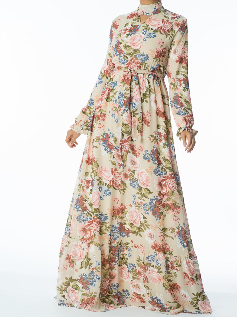 Take me to the Garden maxi dress - Kabayare Fashion
