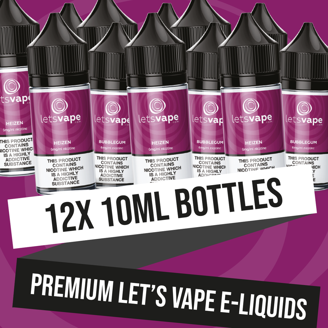 LET'S VAPE ALL DAY PACKAGE (10ml)