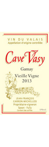 Gamay Vieille Vigne 2013