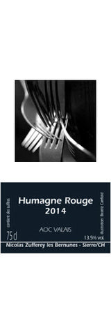 Humagne Rouge 2014