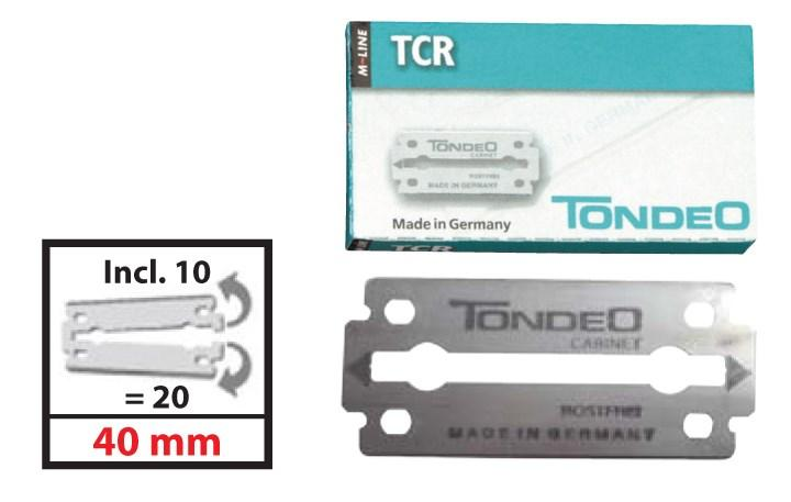 TONDEO TCR Blades For 1110TMC 10pc per Box