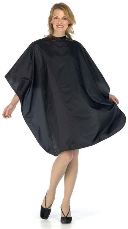 Nylon Cut Cape, Black BES360BKUColor Charm