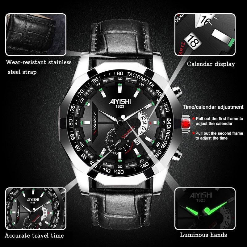 Christmas promotion 50% OFF -Fashion luminous waterproof watch