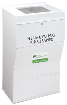 Medical ULPA HEPA DM900-UVC Air Purification - Duct Mount