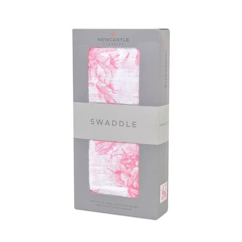 Pink Butterfly Swaddle