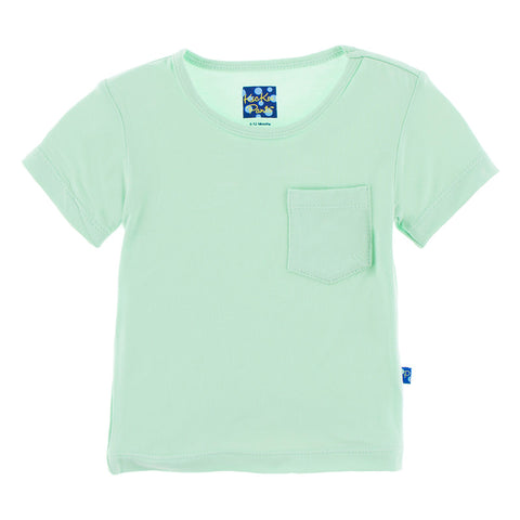 Short Sleeve Easy Fit Tee with Pocket