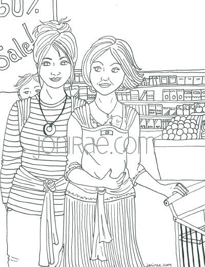 a gentle parenting coloring book