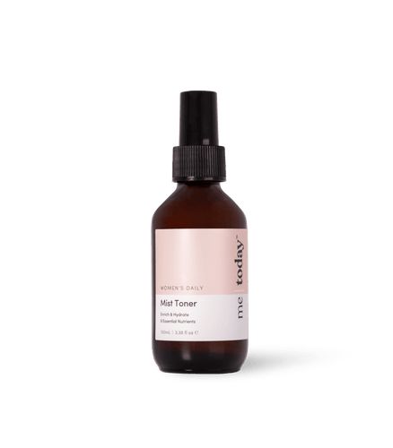 Womens Daily Mist Toner By Me Today | refreshes and tones your skin while providing it with essential vitamins and antioxidants | Made in New Zealand