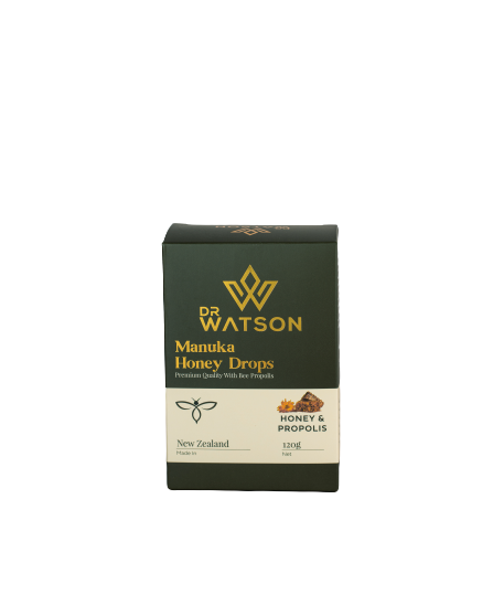 Dr Watson Manuka Honey Drops | Natural Honey & Propolis