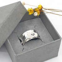 Bella love bunny spinner ring