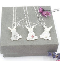 Bunny rabbit necklace