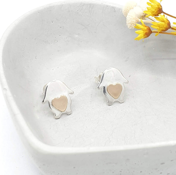 layla lop bunny earrings