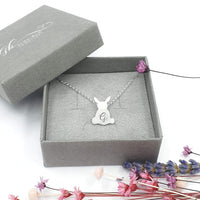 Personalised bunny rabbit necklace