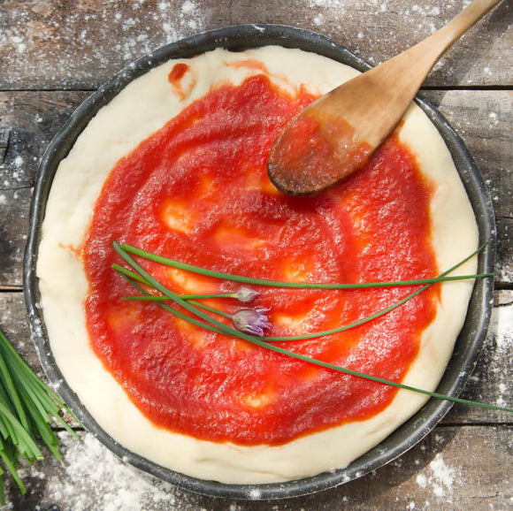 5 X Pizza Bases with Tomato Puree - Small - Only available in Gauteng