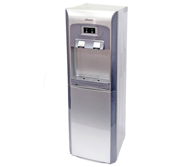 Plumbed in water cooler dispenser
