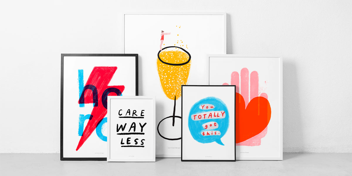 Just Cool Design wholesale posters and prints