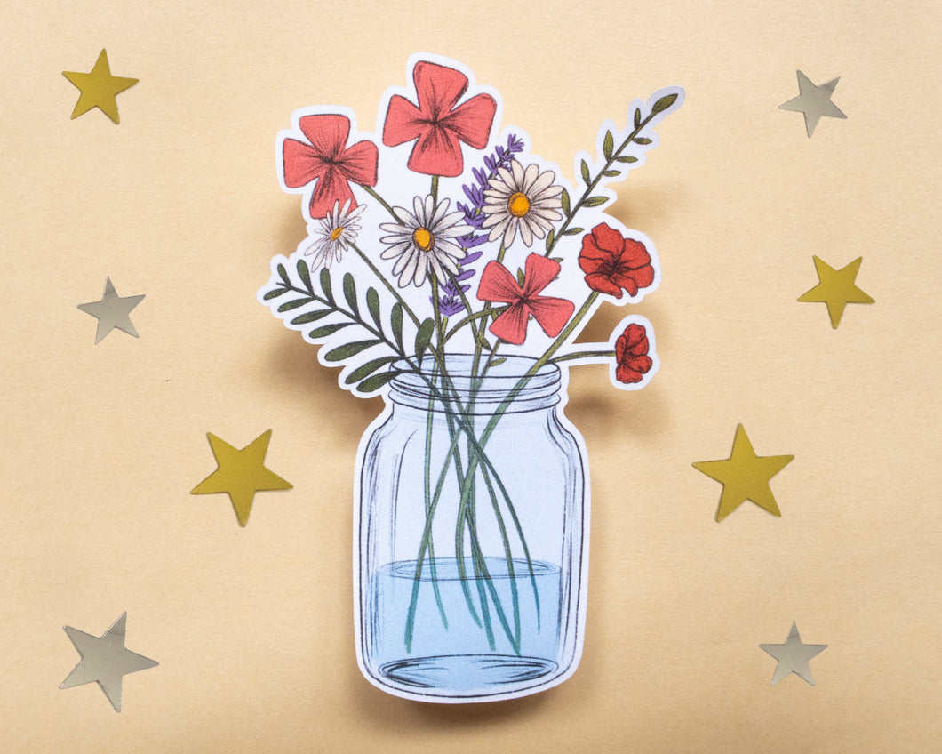 Wildflowers Sticker