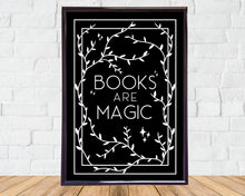 Afbeelding in Gallery-weergave laden, Books Are Magic - A5 Print