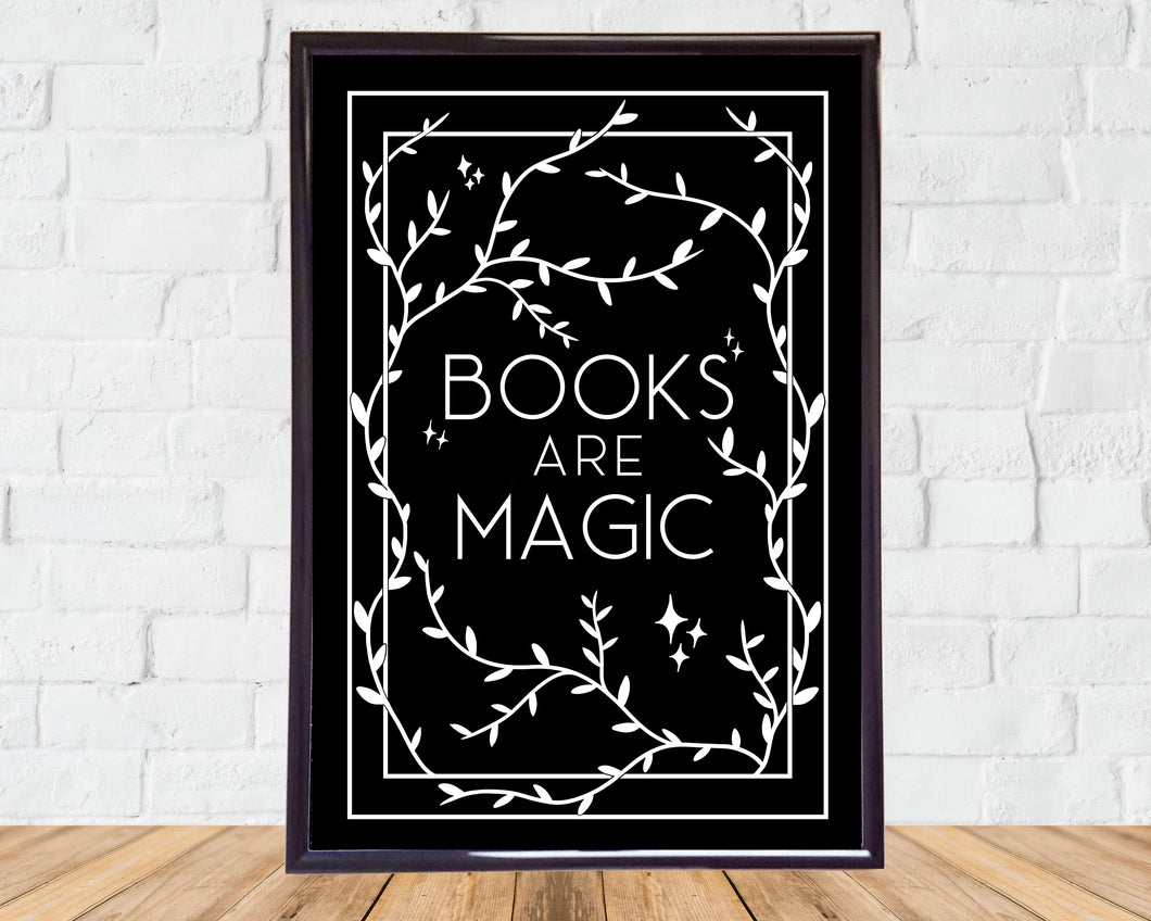 Books Are Magic - A5 Print