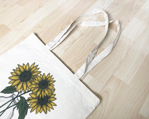 Sunflower Tote Bag - Fairtrade