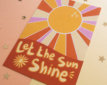 Afbeelding in Gallery-weergave laden, Retro Print - Let The Sun Shine