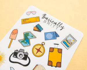 Travel Stickersheet