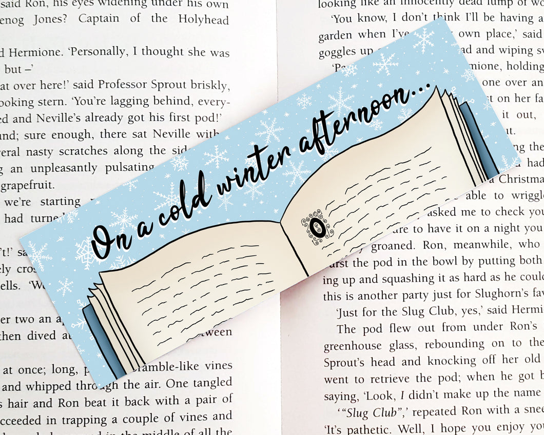 Winter Bookmark