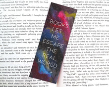 Afbeelding in Gallery-weergave laden, Watercolor Galaxy Bookmark