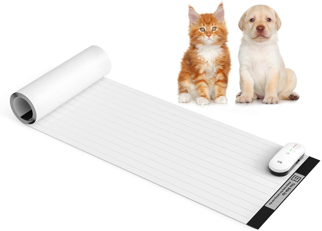"Pet Shock Mat - 60""x12"" Pet Training Mat for Cats & Dogs, 3 Training Modes Pet Shock Pad, Indoor Use Dogs & Cats Training Mat for Sofa w/LED Indicator"