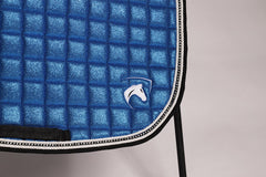 SHIMMER SADDLEPAD ROYAL BLUE