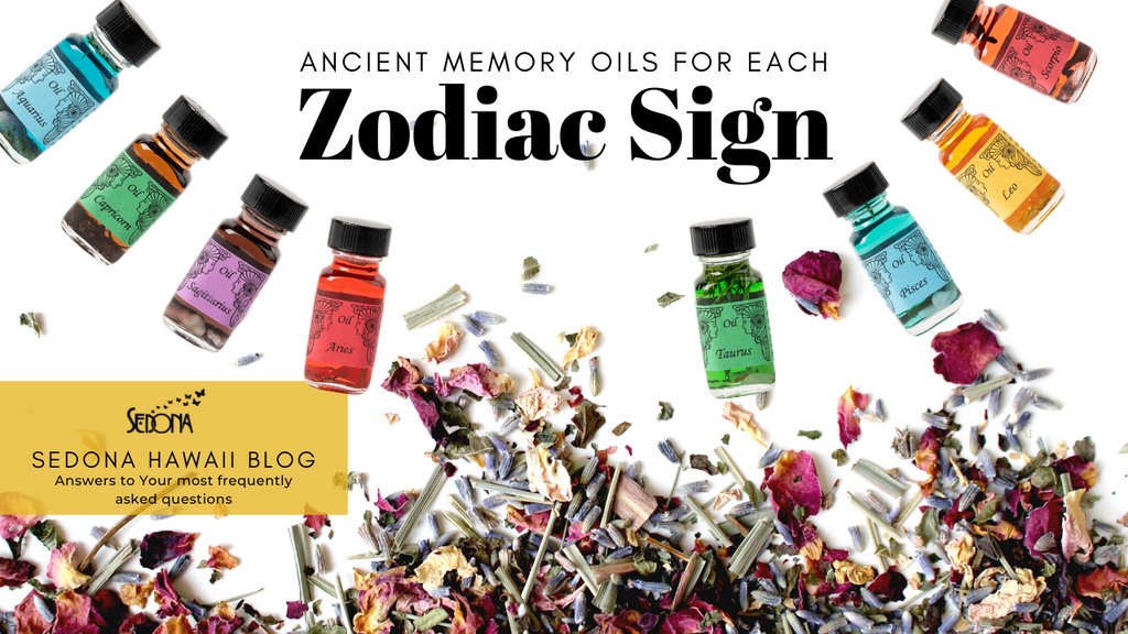 Ancient Memory Oils for Each Sign of the Zodiac