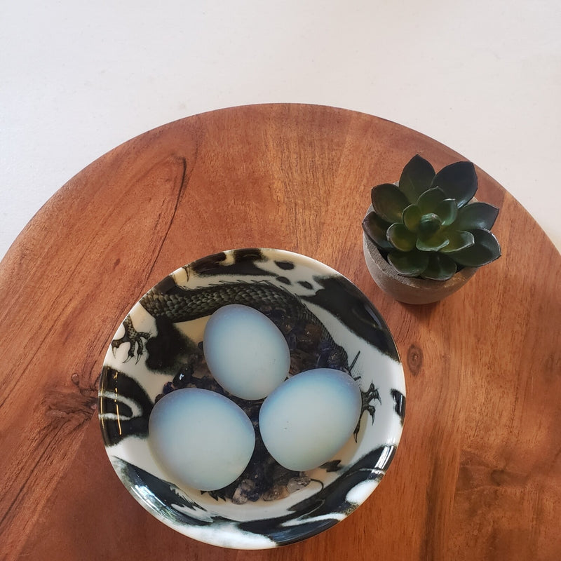 Black Dragon Egg Protection Bowl