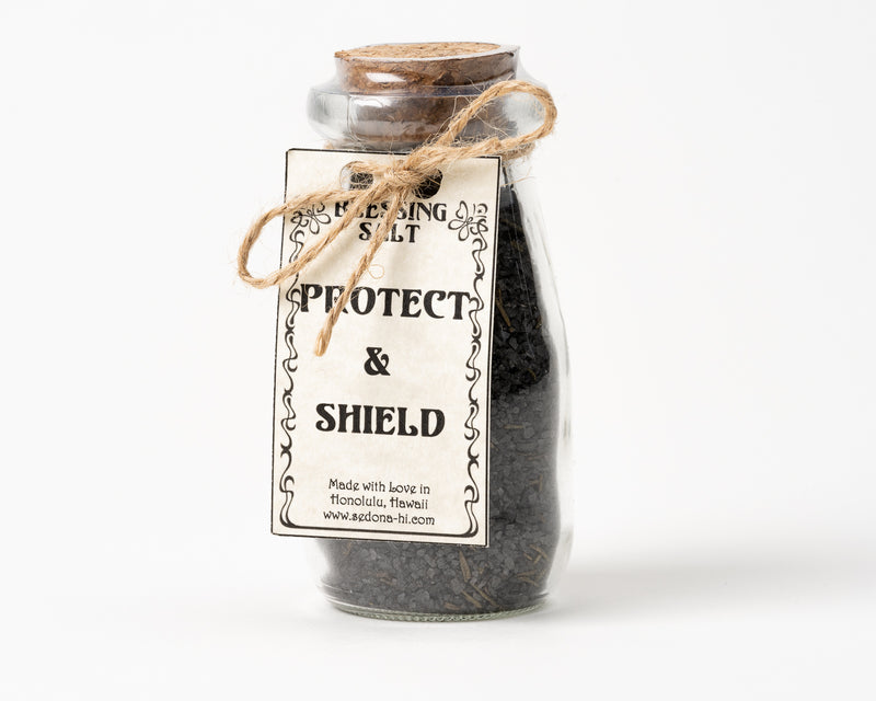 Protect & Shield Blessing Salt Jar