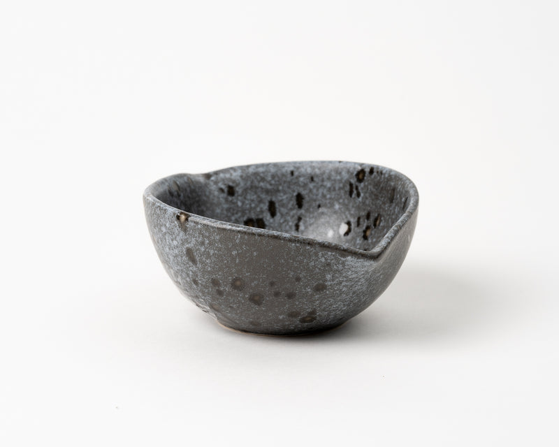 Spouted Bowl - Charcoal Color