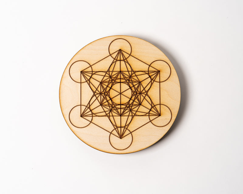 "Metatrons Cube 8"" Solid Grid"