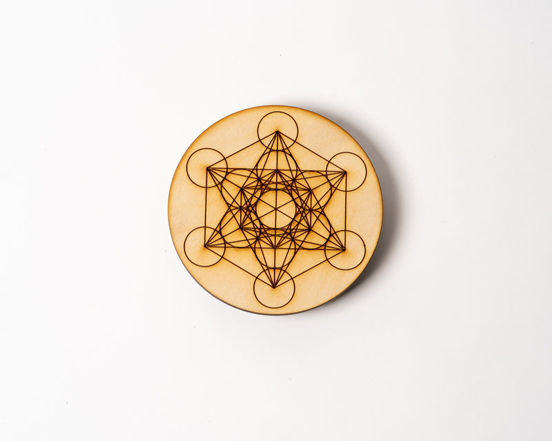"Metatron's Cube 6"" Solid Grid"