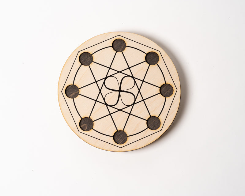 "Infinite Prosperity & Blessings 8"" Grid"