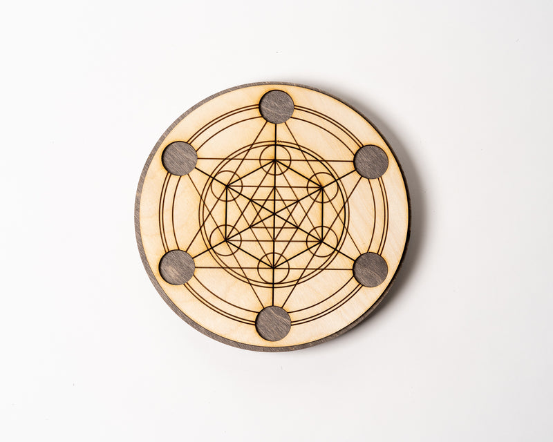 "Metatron's Star 8"" Solid Grid"
