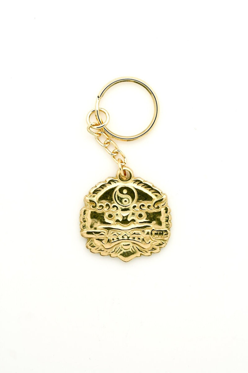 Lion with Sword Keychain