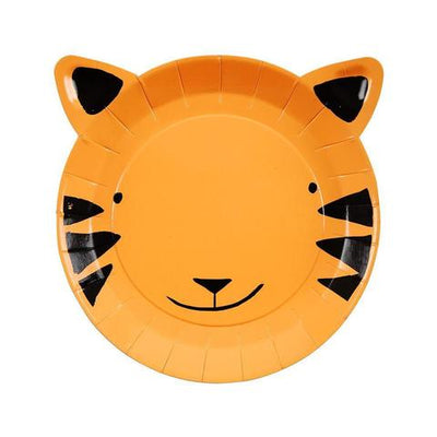 Go Wild Tiger Plates (small) - Ralph and Luna Party Shop