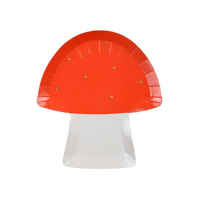 Toadstool Plates - Ralph and Luna Party Shop