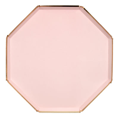 Dusky Pink Dinner Plates - Ralph and Luna Party Shop