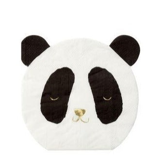 Panda Small Napkins - Ralph and Luna Party Shop