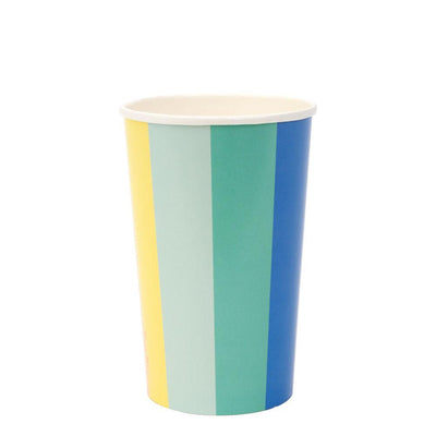 Color Wheel Highball Cups - Ralph and Luna Party Shop